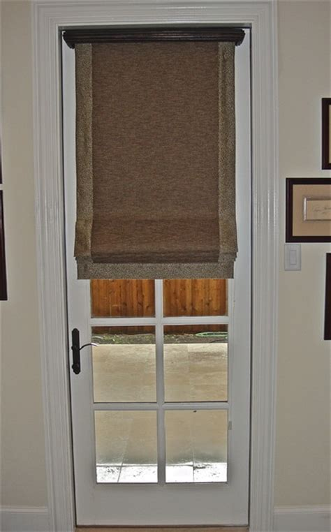 Front Door Window Shades Residential Interiors Modern Shades Dallas By Kite S Interiors