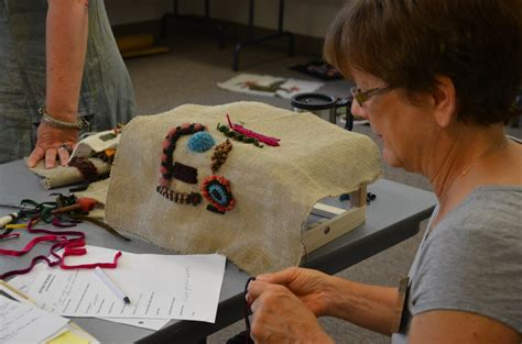 Eric Sandberg Rug Hooking by Events Photos Woolwrights Rug Hooking Guild