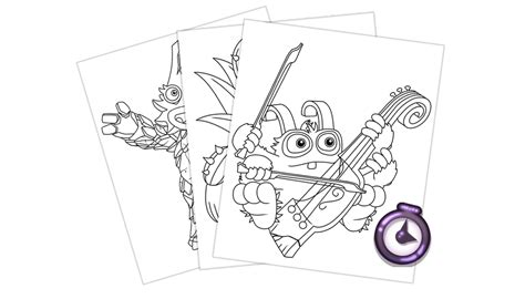 color my coloring book books my singing monsters coloring book update 1 1 big blue