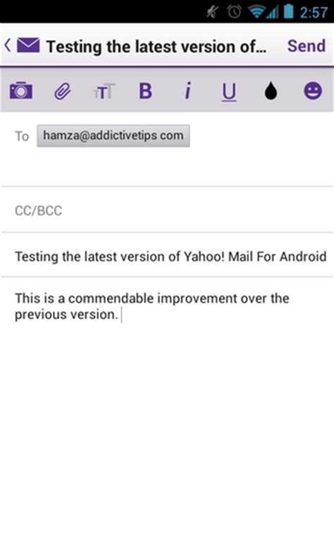 yahoo mail for android on with the new yahoo mail app for windows 8 ios android