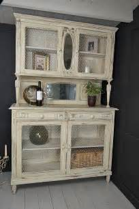 kitchen dresser chicken wire and shabby chic kitchen on