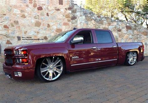 lowered silverado  truck  sick dropped