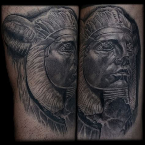 sphinx tattoo sphinx portrait in progress maximilian
