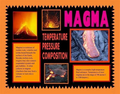 lava l science fair project make a science fair poster volcano and lava poster