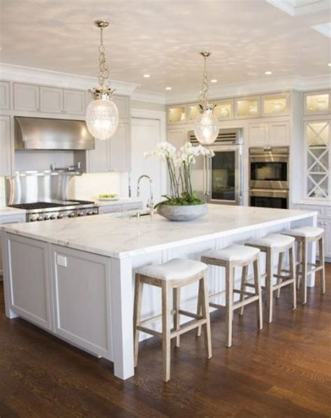 White Kitchens With Islands 25 Best Ideas About Big Kitchen On Pinterest Large