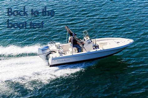 robalo r227 boat test robalo cayman 206 in pictures best fibreglass fishing