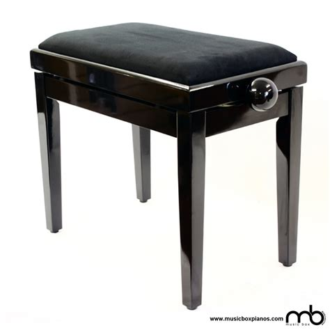 Piano Stools by Leatherette Budget Piano Stool Box Pianos Manchester