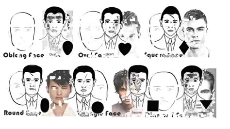 hairstyles based on the shape of head hairstyles for men according to face shape worldbizdata com