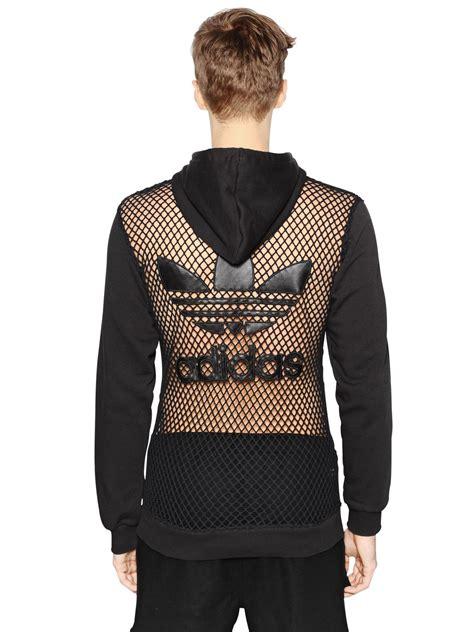 Jacket Hoodies Gojek 06 lyst for adidas hooded mesh cotton sweatshirt in black for