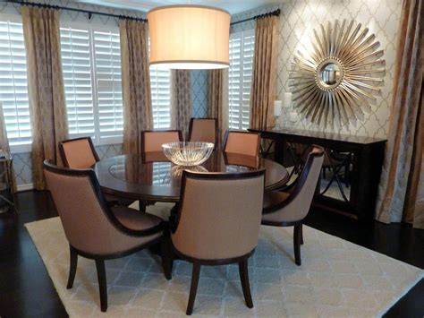 relaxing style in formal dining room decorating ideas