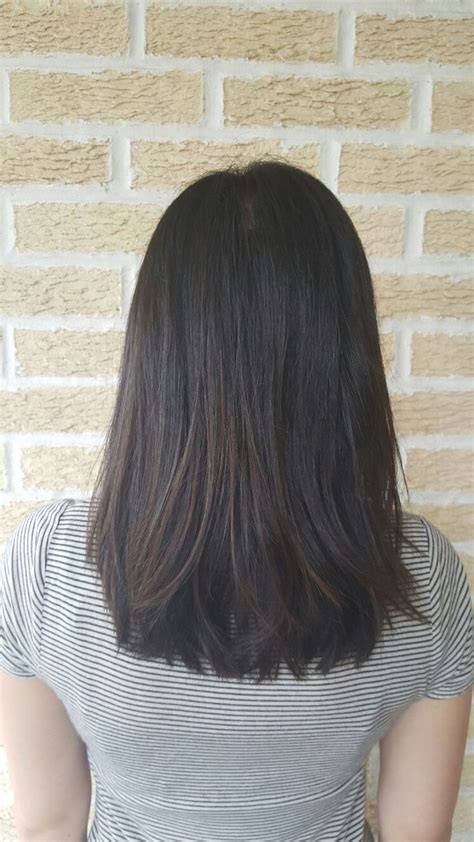 styling an undercut super straight hair medium length medium length haircut hairstyle cut style lob