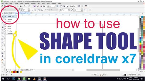 corel draw x7 tutorials pdf in hindi 08 coreldraw x7 tutorials in hindi how to use shape