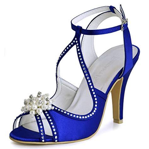 Blaue Schuhe Hochzeit by Brautschuhe In Blau F 252 R Frauen Damenmode In Blau Bei Fashn De