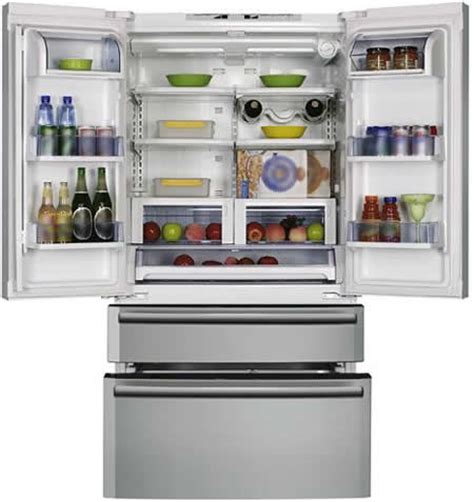 Fridge With Drawers by Cda Pc 85 Is An American Style Side By Side Fridge With