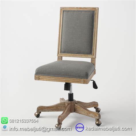 beli kursi kantor minimalis bahan kayu jati jepara
