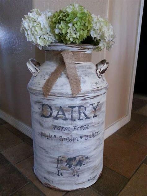 Decorating Ideas Milk Cans Vintage Milk Can Decor