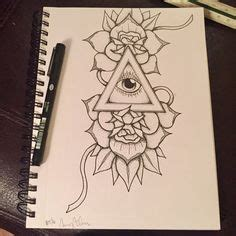 dark matter tattoo tattoos ref triangles and eye