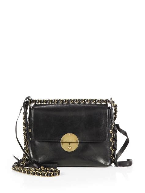 Marc By Marc Captain Shoulder Bag Purses Designer Handbags And Reviews At The Purse Page by Marc Nolita Foldover Shoulder Bag In Black Lyst