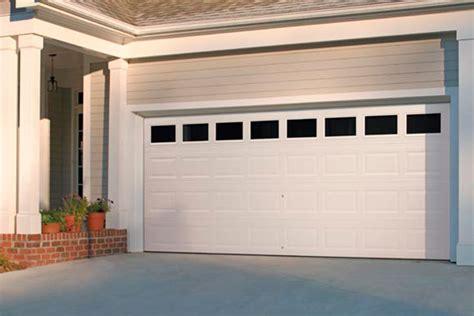 traditional style raised panel steel garage door sales