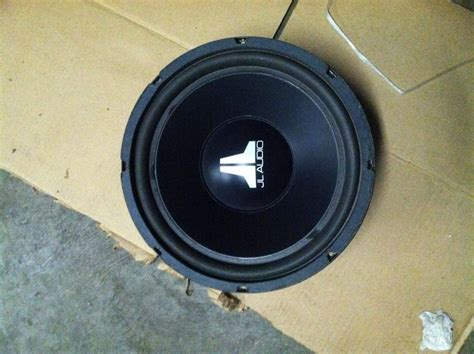 Speaker Subwoofer Ads 12 Inch fs for sale 12 inch jl audio w6 subwoofer nasioc