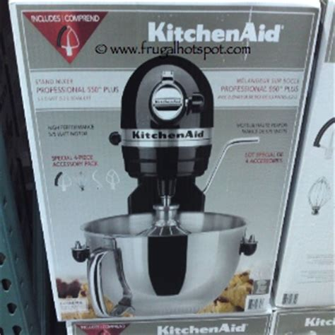 costco kitchen aid mixer costco deal kitchenaid professional 5 5 quart stand mixer 279 99 frugal hotspot