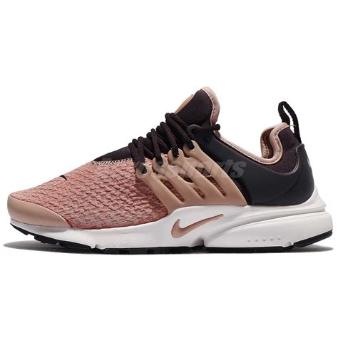 nike air presto sneakers wmns nike air presto port wine particle pink shoes