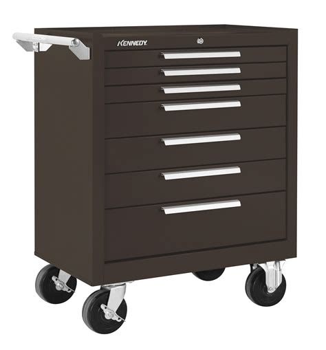kennedy 6 drawer tool box kennedy manufacturing 360b 10 drawer mechanic s chest with