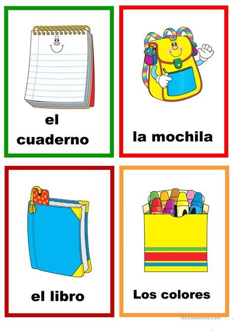 imagenes en ingles de utiles escolares 218 tiles escolares trabajos hojas de trabajo de ele gratuitas