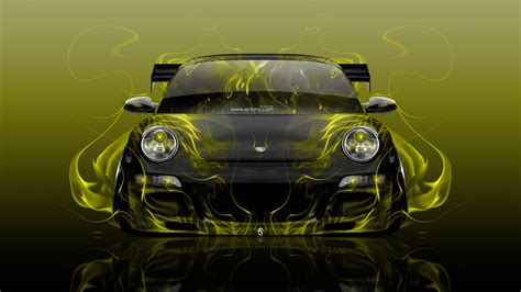 Tony Cars by Porsche 911 Front Abstract Car 2016 Wallpapers