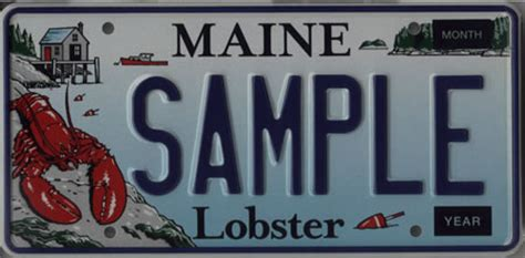 Maine State Vanity Plates by Maine Of State Maine Government License Plates