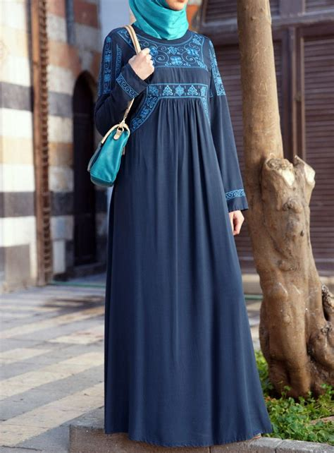 Zalfa Dress Mouslim Modis Gamis Islam The Embroidery On This Dress Is Like No Other For