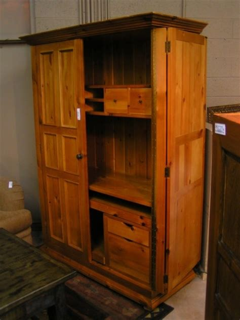pine computer armoire 1000 images about in at airpark consignment on pinterest