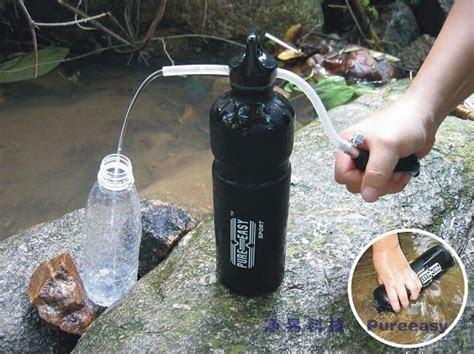 Portable Outdoor Activated Carbon Filter Sport Water Bottle 550ml china portable water filter bottle in outdoor sport pf112 china portable water filter water