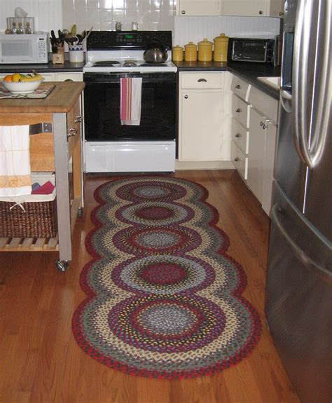 designer kitchen rugs custom braided rugs for interior designers country braid