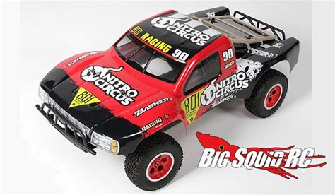 nitro circus rc monster truck basher nitro circus 4 215 4 short course truck 171 big squid rc