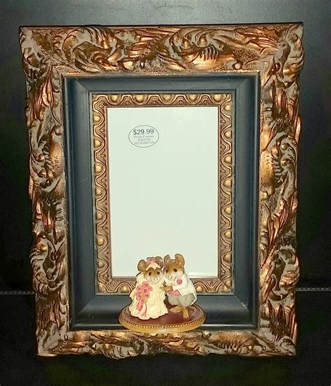 framed wedding invitation using a figurine for a framed wedding invitation the enchanted manor