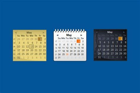Calendar Desktop Gadget 78 Best Images About Calendar Gadgets Win7 Gadgets On