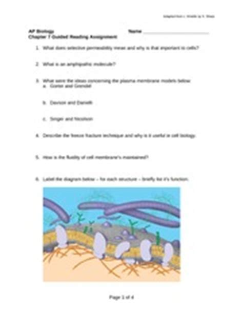 chapter 25 section 4 guided reading reforming the industrial world cell membrane poster glycolipid glycoprotein simple