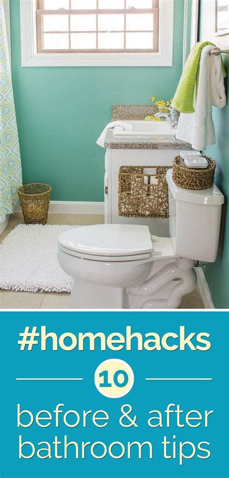 home hacks home hacks 10 before after bathroom tips thegoodstuff