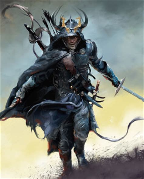 incredibly cool fantasy warrior art by david seguin