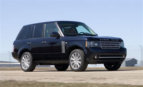 land rover range rover 2010 car and driver