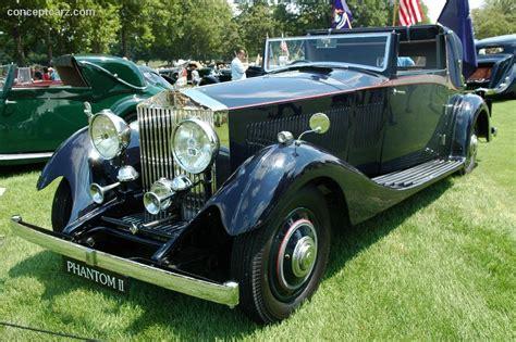 1933 rolls royce phantom ii continental conceptcarz