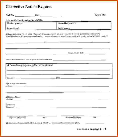 corrective action forms sle16949form s jpg