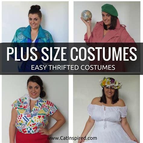 size costumes  easy diy thrift shop costumes