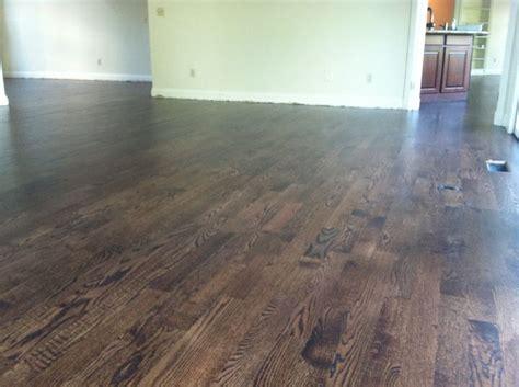 black hardwood floor stain walnut stained oak hardwood flooring