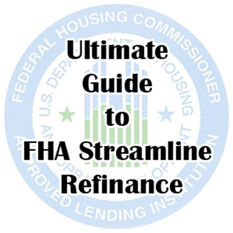Mortgagee Letter Fha Streamline Refinance Refinance Fha Mortgage Finance One