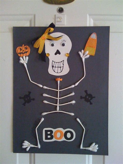 skeleton craft for 28 best skeleton crafts for images on