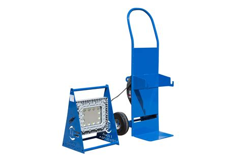 explosion proof led work lights explosion proof led work light with dolly cart larson