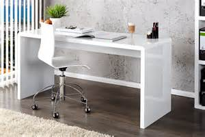 High Gloss White Office Desk Enzo White High Gloss Computer Office Desk Furniturebox