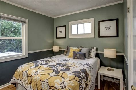 two tone walls bedroom tiny phinney ridge cottage with big charm contemporary